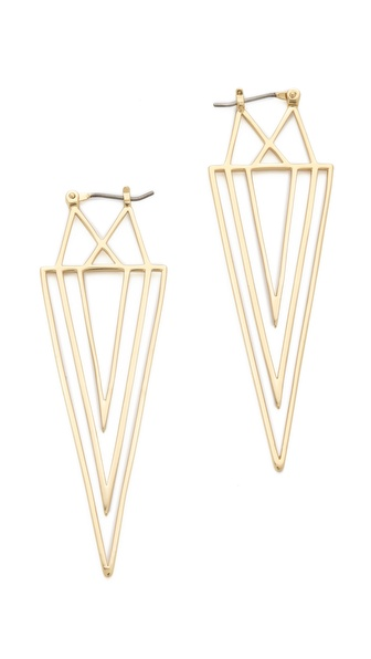 Juicy Couture Spike Linear Earrings
