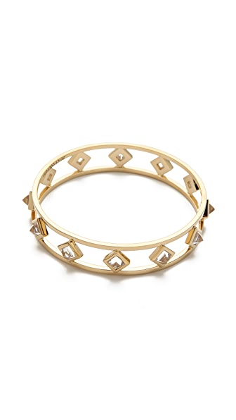 Juicy Couture Crystal Pyramid Bangle