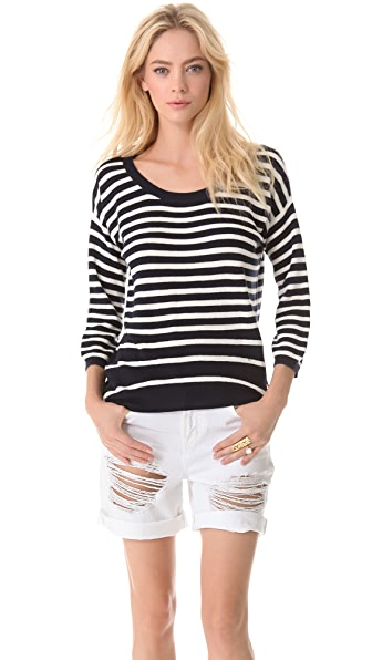 Juicy Couture Peyton Stripe Sweater