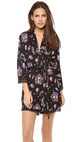 Juicy Couture Bouquet Printed Robe