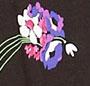 Black Tossed Bouquet
