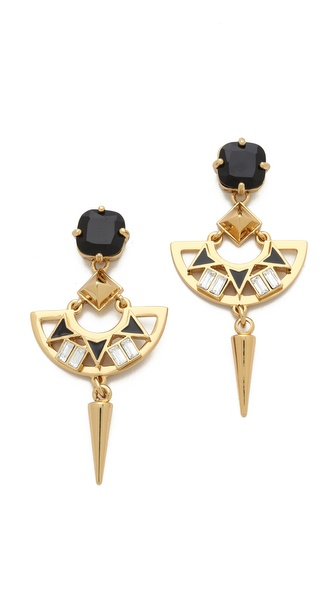 Juicy Couture Deco Spike Drop Earrings