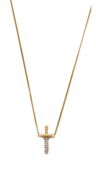 Juicy Couture Pave Dagger Necklace