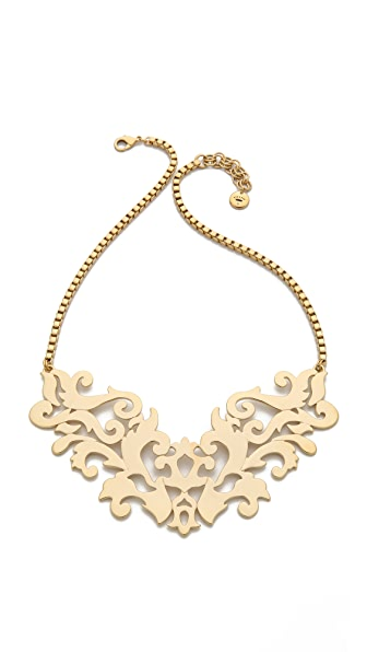 Juicy Couture Openwork Drama Necklace