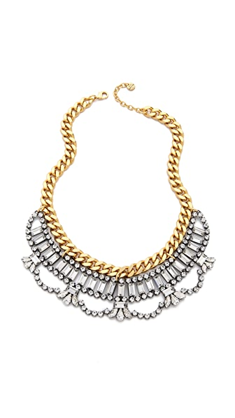Juicy Couture Rhinestone Drama Necklace