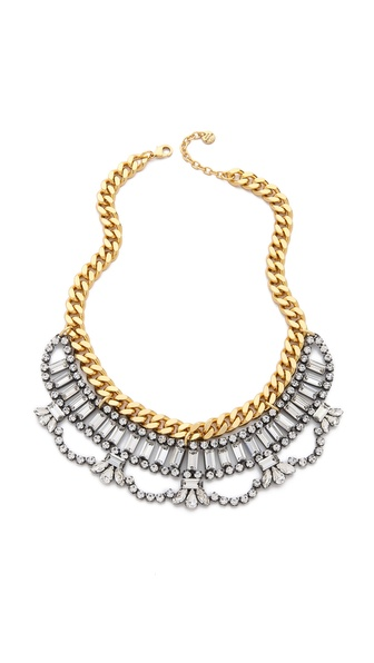 Juicy Couture Rhinestone Drama Necklace