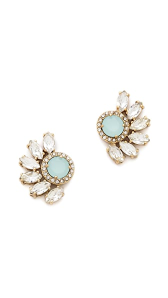Juicy Couture Marquis Cluster Rhinestone Stud Earrings