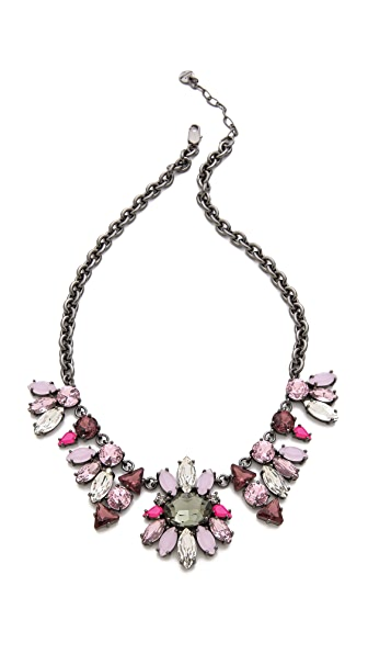 Juicy Couture Multi Rhinestone Chain Necklace