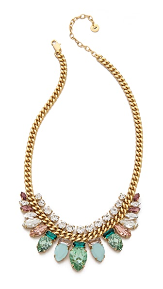 Juicy Couture Teardrop Chain Link Necklace