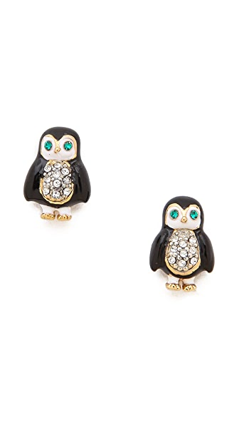 Juicy Couture Penguin Stud Earrings