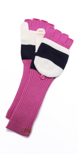 Juicy Couture Pop Top Mittens at Shopbop / East Dane