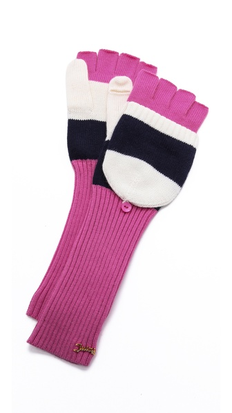 Juicy Couture Pop Top Mittens