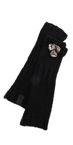 Juicy Couture Chunky Jewel Mittens at Shopbop / East Dane