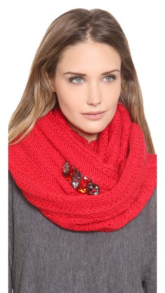 Juicy Couture Chucky Jewel Infinity Scarf