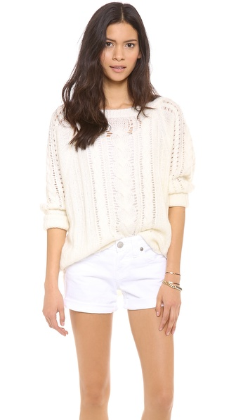 Juicy Couture Easy Cable Pullover