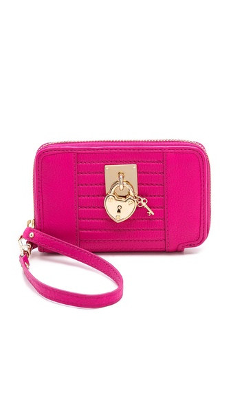 Juicy Couture Robertson Tech Wristlet