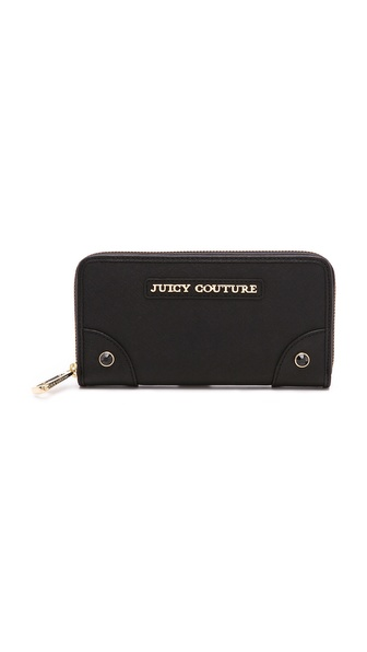Juicy Couture Sophia Continental Zip Wallet
