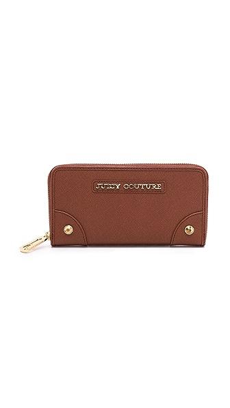 Juicy Couture Sophia Continental Zip Wallet