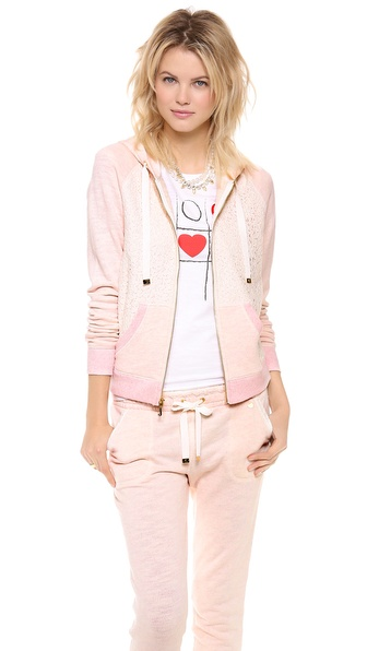 Juicy Couture Lace Hoodie