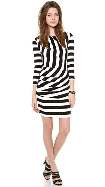 Juicy Couture Promenade Stripe Dress