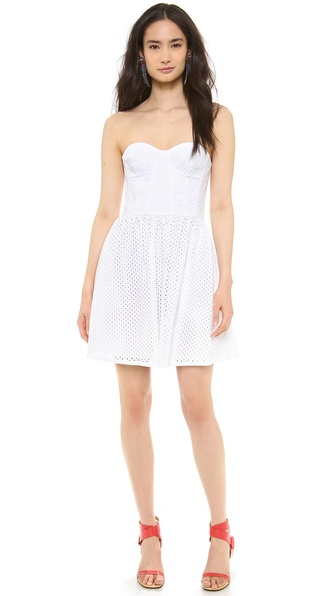 Juicy Couture Punched Eyelet Dress