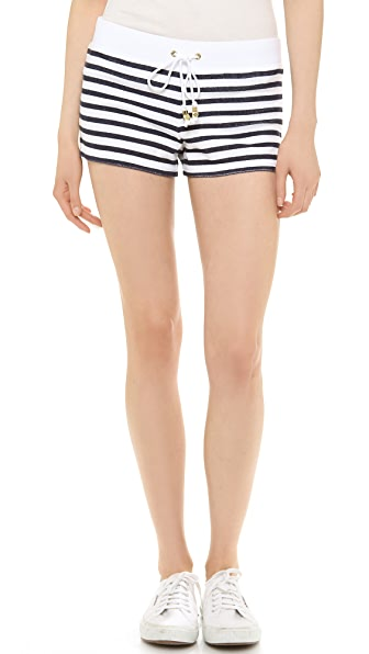 Juicy Couture Stripe Terry Shorts