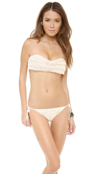 Juicy Couture Prima Donna Ruffle Bikini Top