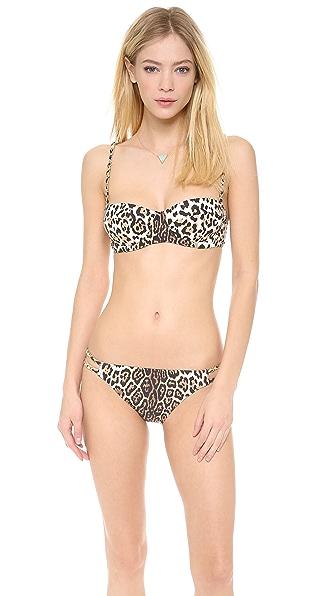Juicy Couture Luxe Leopard Bikini Top