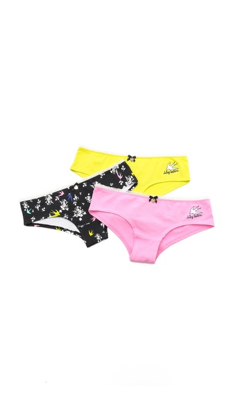 Juicy Couture Valencia Bird Panty Pack