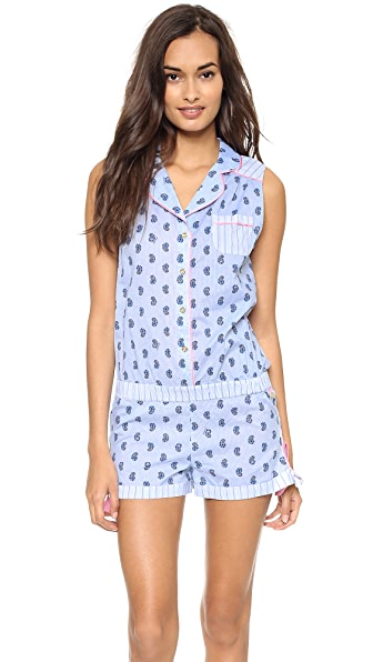 Juicy Couture Petite Paisley Romper