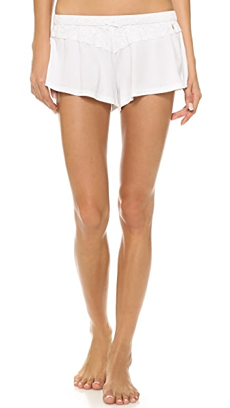 Juicy Couture Eyelet Modal Shorts