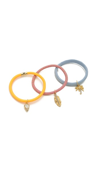 Juicy Couture Set of 3 Hair Elastics