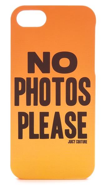Juicy Couture No Photos Please iPhone 5 / 5S Case