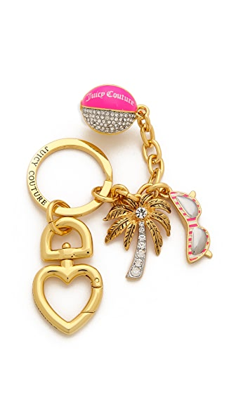 Juicy Couture Beach Ball Charmy Keychain