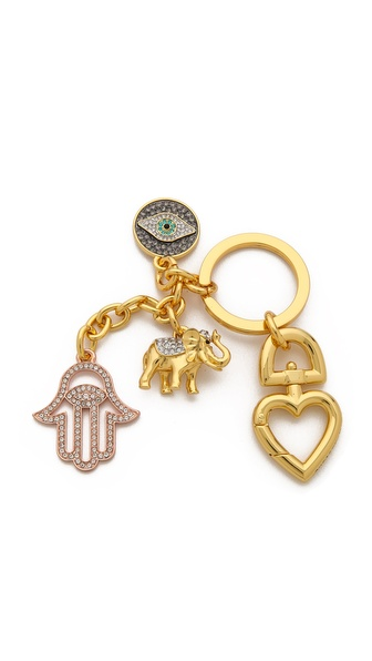 Juicy Couture Elephant Charm Keyfob