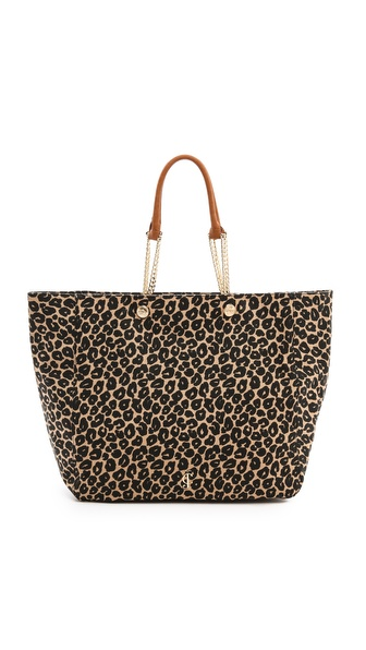 Juicy Couture Malibu Creek Beach Tote - Canyon Cheetah at Shopbop / East Dane