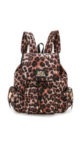 Juicy Couture Malibu Penny Backpack - Brown Leopard at Shopbop / East Dane