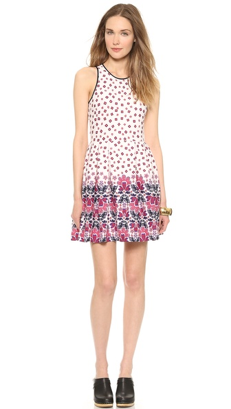 Juicy Couture Deco Floral Ponte Dress