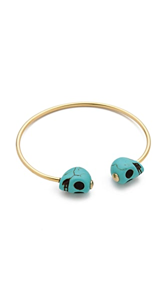 Jules Smith See You at the Souk Skull Cuff