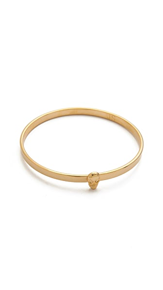 Jules Smith Skull Bangle Bracelet