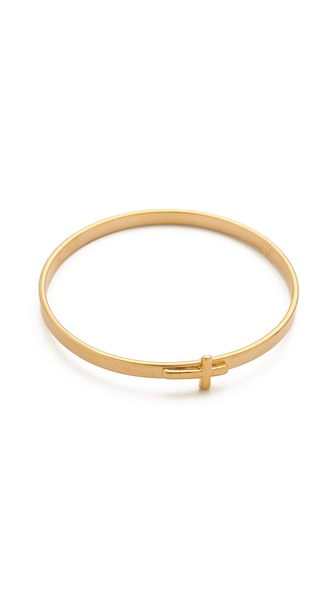 Jules Smith Cross Bangle Bracelet