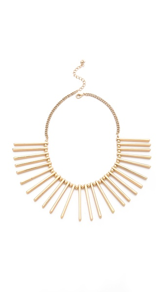 Jules Smith Geo Spike Bib Necklace