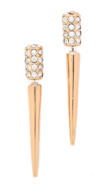 Jules Smith Love From Paris Dagger Earrings