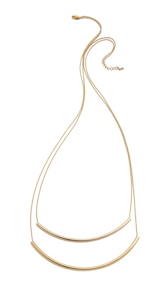 Jules Smith Long Double Bar Necklace
