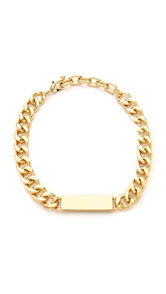Jules Smith Curb Link ID Necklace