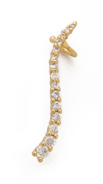 Jules Smith Crystal Eave Ear Cuff