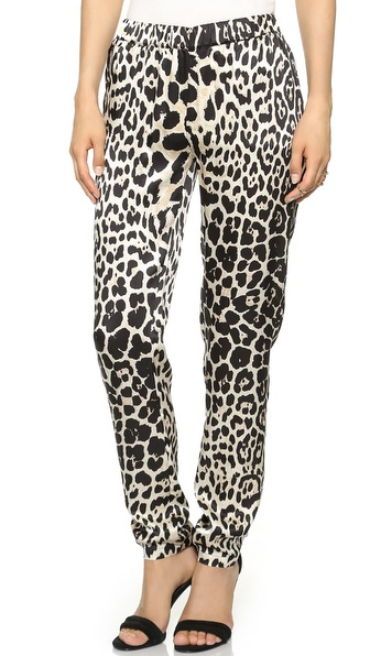 Just Female Chill Pants - Leopard