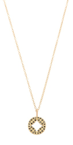 Jamie Wolf Black Diamond Pendant Necklace