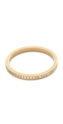Jamie Wolf Thin Pave Diamond Band