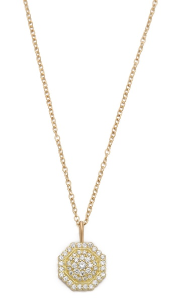 Jamie Wolf Small Pave Octagon Necklace